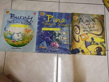 Short story for children 1 set 3 books