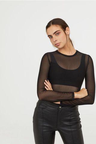 H&M mesh top