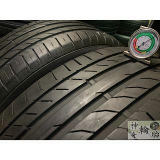 225/50/18 2015年份 德國馬牌輪胎 九成新 SSR 失壓續跑胎 CSC5P 胎紋完整無變形 兩條一組