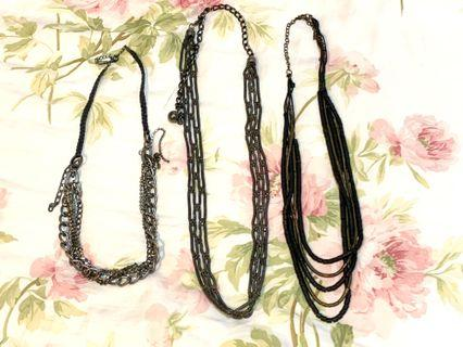 🚚 Necklaces (whole set)