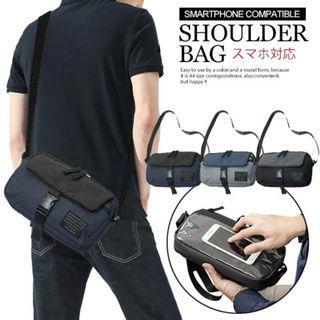 ((促銷價$98包順豐自取)) 3色 日本直送 Moa Moa 輕便旅行証件袋 休閒斜背袋 斜咩袋 男女啱用