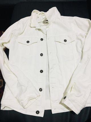 White denim jacket sale❗️