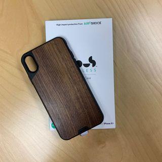 英國MOUS手機殼 iPhone XS Max 胡桃木