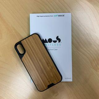 英國MOUS手機殼 iPhone X 竹