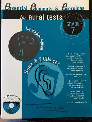 🚚 Essential Elements & Exercise fro Aural Test Grade 7