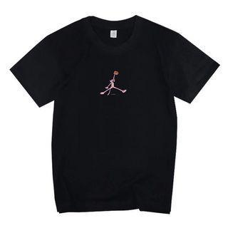 Pink panter Jordan Fashion T-shirt, men and women