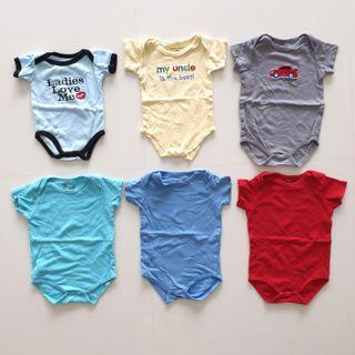 Luvable Friends Rompers 6mth 12mth
