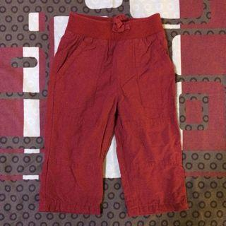 Authentic Gymboree red pants