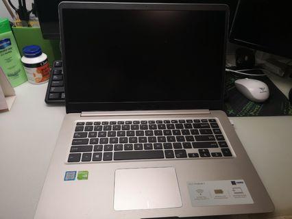 """Mint Condition ASUS S510UQ-EB76 VivoBook, 15.6"""", Intel Core i7-7500U, NVIDIA GeForce 940MX, 8GB RAM, 256GB SSD + 1TB HDD"""