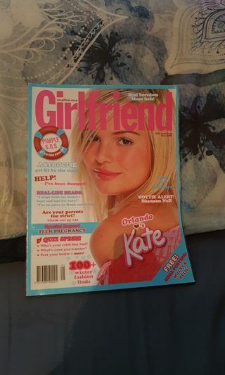 Girlfriend Magazine. Kate Bosworth. May 2004