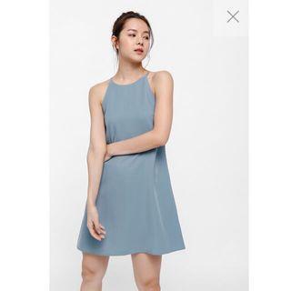 Love Bonito Elsha Camisole Dress - Dusty Blue (S)