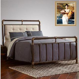 April hot sale 10B-PO-Industrial Pipe /lift Bed Frame Retro
