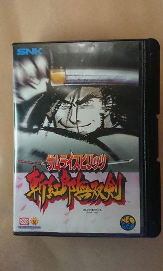 SNK NEOGEO 原裝(日版)家用版遊戲 ~ 侍魂 斬紅郎無双劍