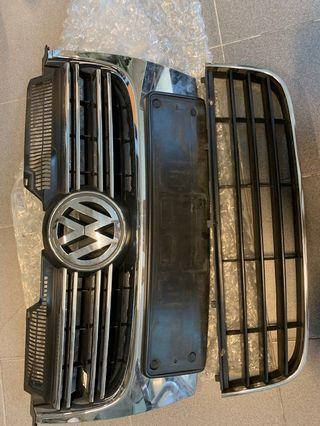 JETTA's front grill