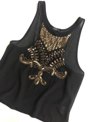 Nichii Sequined Blouse