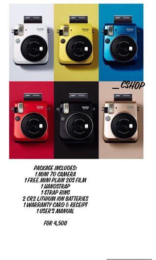 Instax Mini 70 Package
