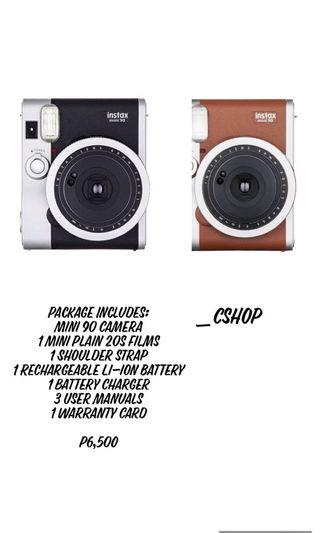 Instax Mini 90 Package