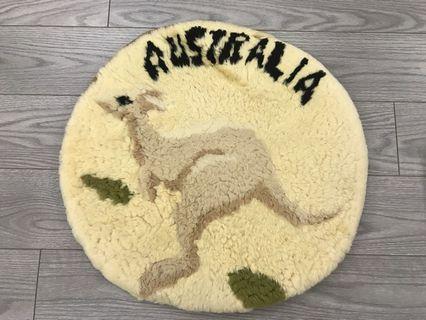 袋鼠坐墊(澳洲購入,全新,直徑50cm)