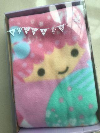 Little Twin Stars 小毛毯(70x100cm,全新原包裝)