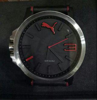 PUMA大錶徑運動風格石英錶 50mm