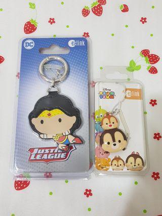 (2 Pcs) Wonder Woman + Chips & Dales Limited Edition Ezlink Charms
