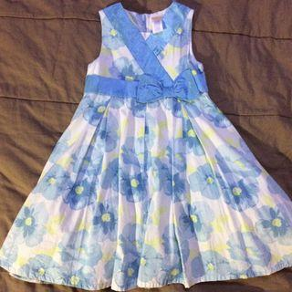 Gymboree blue flower dress