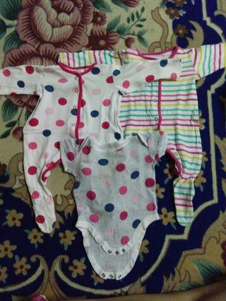 Rompers and sleepsuit mothercare