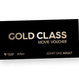 Gold Class E-Voucher 2 for $80