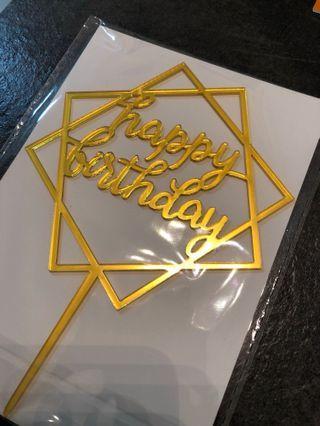 🎉生日蛋糕插牌🎂💗