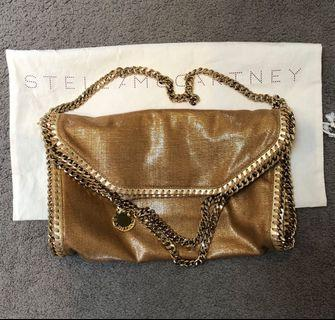 Authentic Stella Mccartney Bag Gold