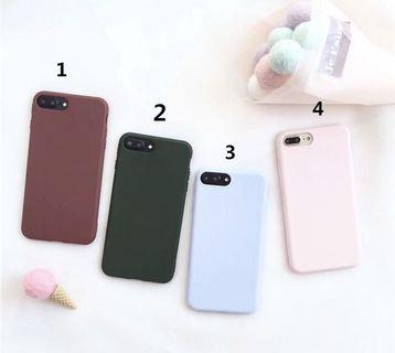 Simple pure colour Iphone casing