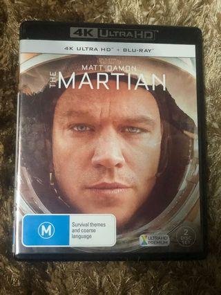 4k Bluray The Martian