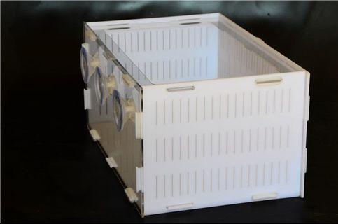 Acrylic fry box