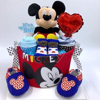 Mickey Mouse Diapers Cake