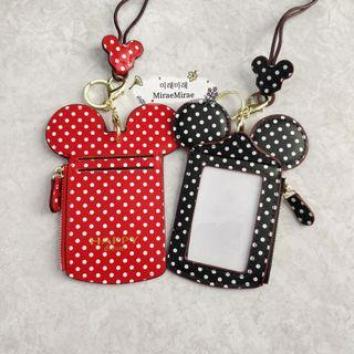 🚚 Mickey lanyard card holder | ezlink card holder | ID card holder