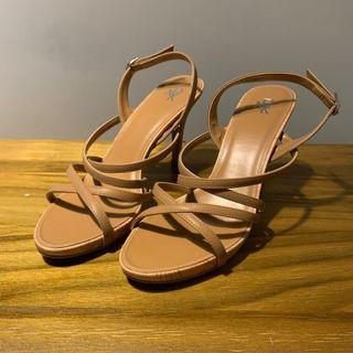 🚚 Stealth Heels: Brown / Nude by DMK