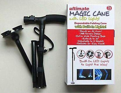 Ultimate Magic Cane Foldable Extendable with LED light