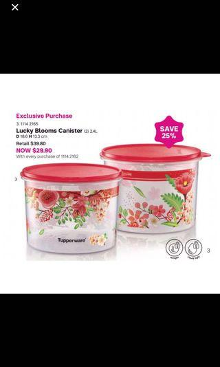 🚚 Tupperware one touch set