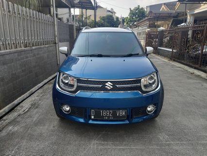 Suzuki ignis GX matix 2017 biru