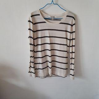 Forever 21 Striped Long Sleeve Top #endgameyourexcess