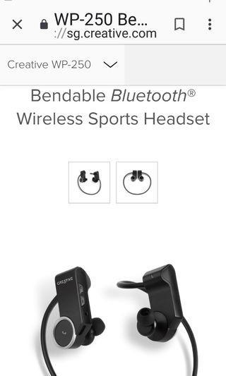 CREATIVE Bluetooth Earphones