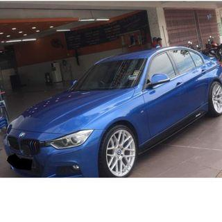 BMW F30 3series spot  FOR RENTAL!!! BEST PROMOTION PRICE!!!