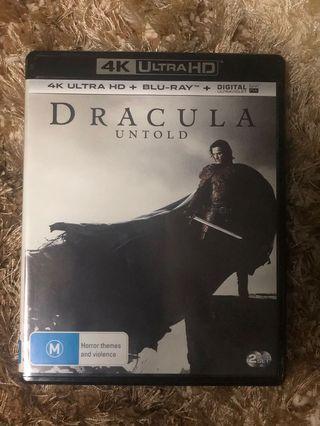 4k Bluray Dracula Untold