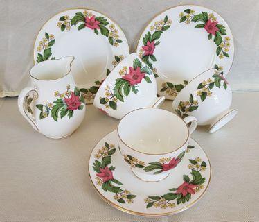 全新 WEDGWOOD 骨瓷茶具