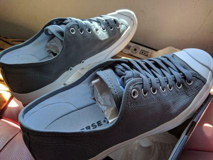"Grey Converse Jack Purcell 44"" EUR"