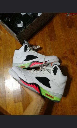 Air Jordan 5 Poison Green