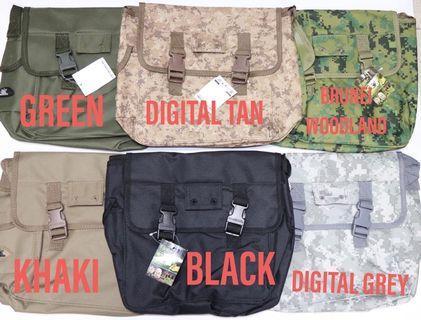 🚚 🍒digital grey army sling bag