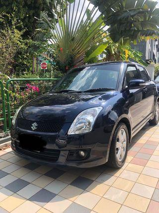 Newly Arrived Sporty 1.3L Suzuki Swift for Long term short term daily weekly monthly rent