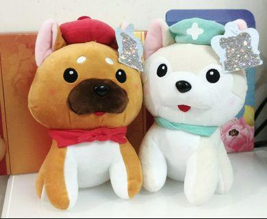 ✨ShibaInu / Painter / Nurse/ Soft toys ✨ a pair $80