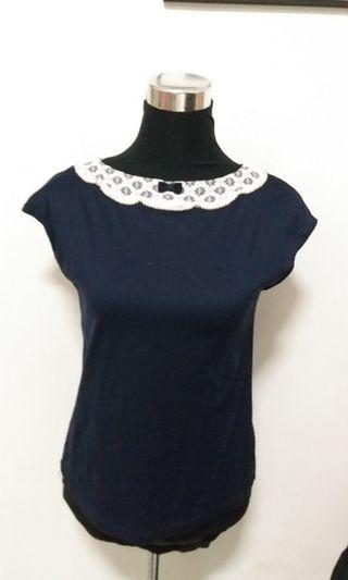 Navy blue top or blouse